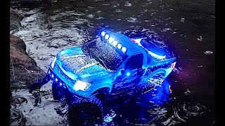 Ford F-150 RC Water Crawling   New Bright Body   Traxxas TRX 4 Sport Chassis