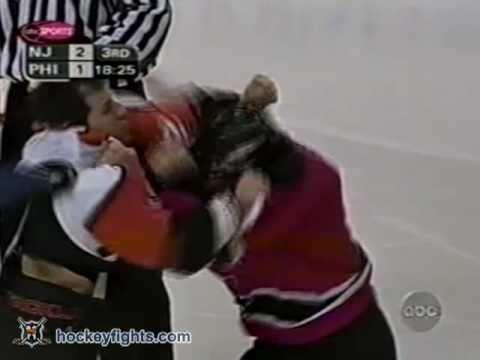 Rick Tocchet vs. Scott Stevens