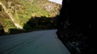 preview picture of video 'ContourHD on the wheel - on a mountain road'