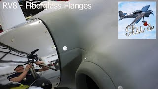 RV8 - Fiberglass Flanges