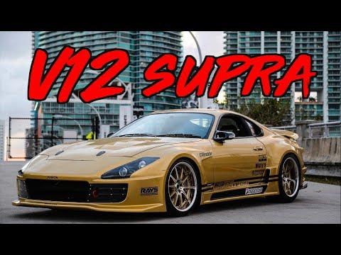 TopSecret V12 Supra in Miami