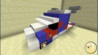 Minecraft - How To Build Transformers 5 Optimus Prime!