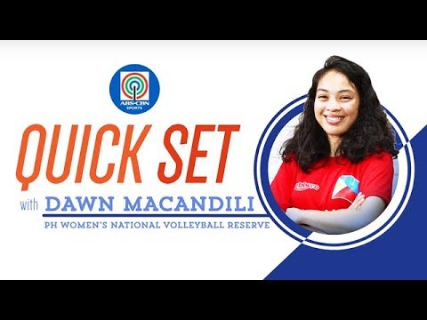 Quickset with Dawn Macandili | ABS-CBN Sports Exclusives