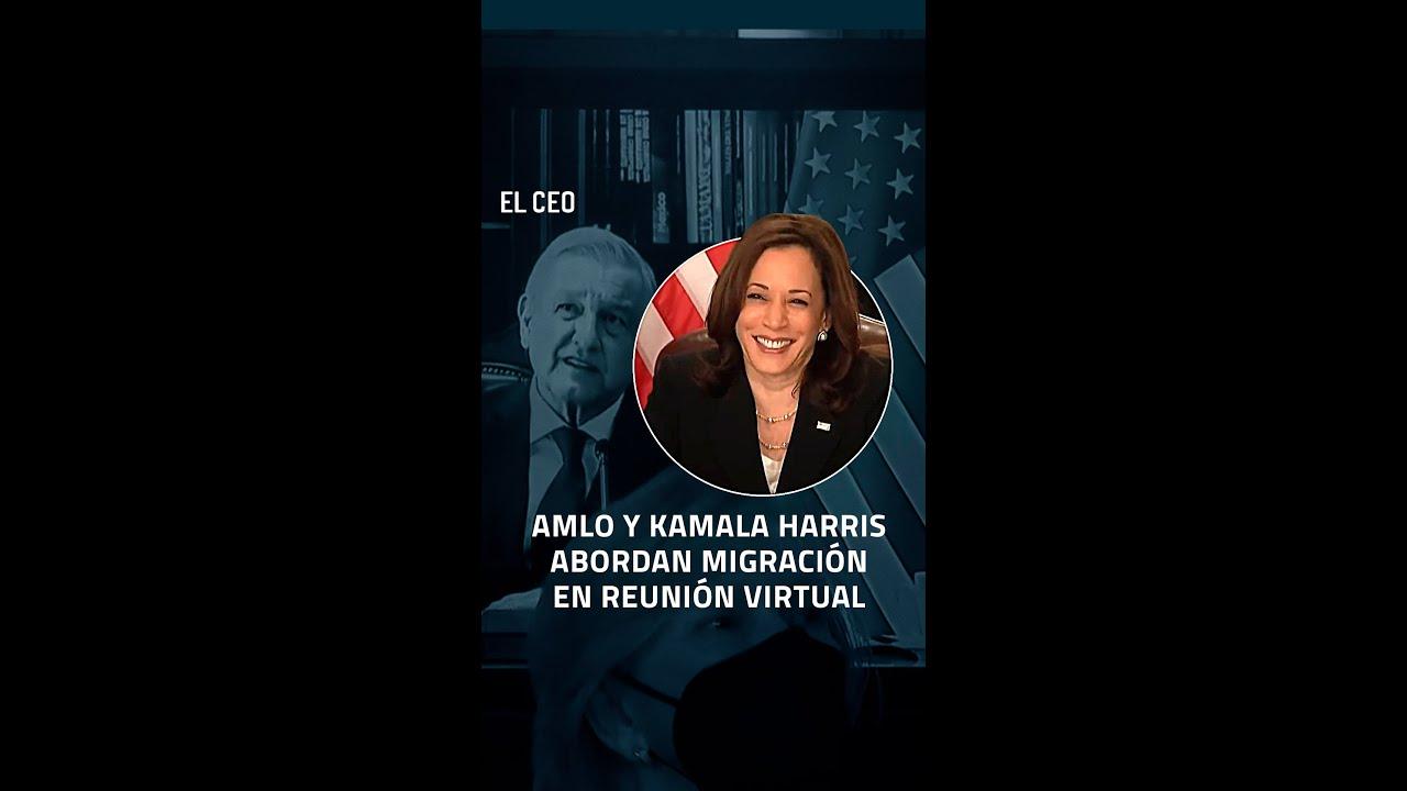 #Encuentro #EstadosUnidos #México #Kamala #Harris #AMLO #Migración #Frontera #Biden #VideoVertical