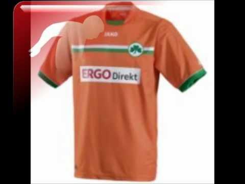 Greuther Fürth Trikots 2012/13