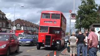 preview picture of video 'Bus Rally North Cheam'