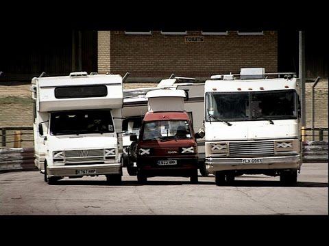 Extreme Motorhome Racing | Top Gear