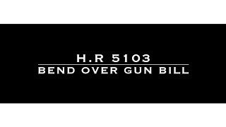 H.R. 5103: The Bend Over G-U-N Bill!