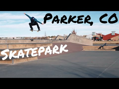 Skateboarding Parker Colorado Skatepark. Wheel Bender. Skate Vlog. Shay Rubino James McCotter
