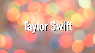 Taylor Swift   Call It What You Want (Lyrics)