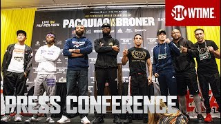 Pacquiao vs. Broner: Undercard Press Conference | SHOWTIME PPV