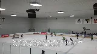 #16 Su-An Cho (2004, D) U14 AAA St Louis Lady Blues Goals & Highlights 2017-2018 Season
