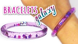 DIY Crafts: WATER BRACELETS Galaxy - Innova Crafts