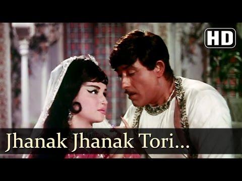 Mere Huzoor - Jhanak Jhanak Tori Baje Payaliya - Manna Dey