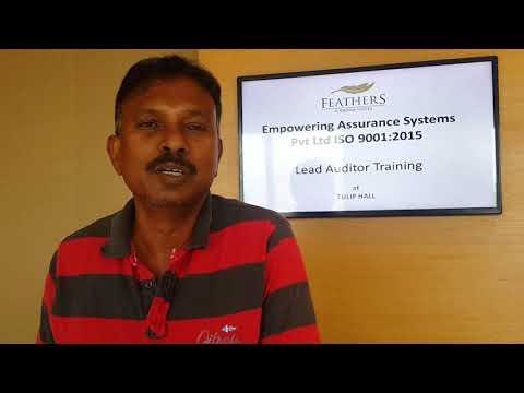 ISO 9001:2015 Lead Auditor Training - YouTube