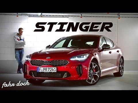 ICH WILL SO EINEN! KIA STINGER GT 2019   Review und Fahrbericht   Fahr doch