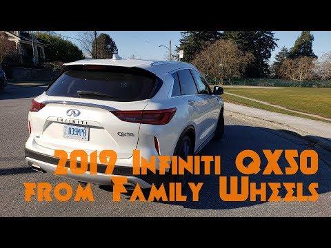 Family Wheels Reviews the 2019 Infiniti QX50