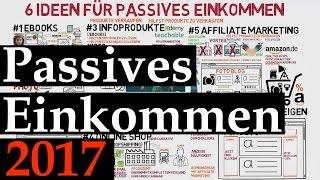 6 lukrative Ideen für passives Einkommen in 2017