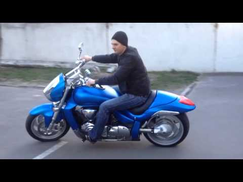 Customized Suzuki Intruder M109 | Wiring Diagram