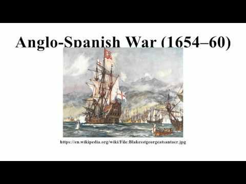 Anglo-Spanish War (1654–60)