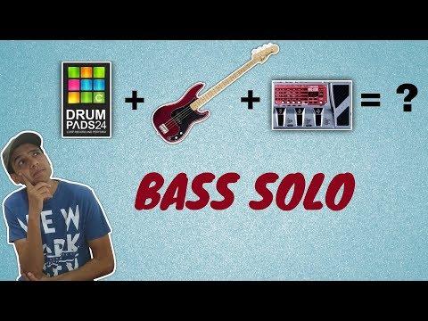 Bass Guitar and Drum Pads 24 - Wah Wah - Boss ME-20b