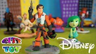 Abrimos Figuras Disney Infinity De Star Wars, Pixar , Marvel En City Toy