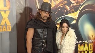 "Джейсон Момоа, Jason Momoa & Lisa Bonet ""MAD MAX Fury Road"" Los Angeles Premiere"
