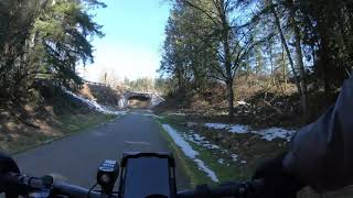 Cedar River Trail bike ride Timewarp 10X.