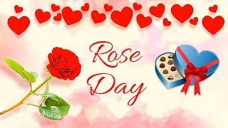 Happy Rose Day Status Video, Happy Rose Day Song Quotes Pic Gif Card Photo, Happy Rose Day 2020