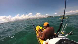 Kayak Fishing Maui - Two Roi on One Lure