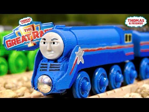 Shooting Star Gordon (The Great Race) | Custom Thomas Wooden Railway #4 by HiroTheJapaneseTrain