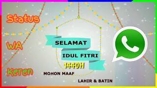 Ucapan Selamat Hari Raya Idul Fitri 2019 Status Wa Keren Th Clip