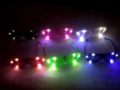 Clip von LED Party Brillen für CELEDEX, Ebayshop: hr-ledwelt, Hood.de, Quako.de