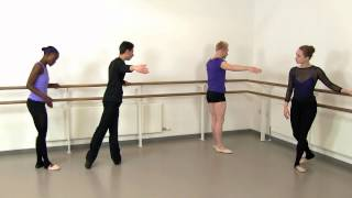 Rond De Jambe Exercise Demonstration   Adult Ballet Class With Glauco Di Lieto