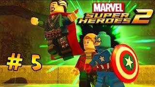 LEGO Marvel Super Heroes 2 — 5 серия — Средневековая Англия[1080p]
