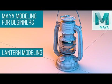 Maya Modeling Tutorial for Beginners | Learn Maya - (Lantern Modeling - Part 1)