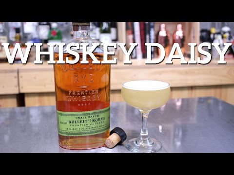 Whiskey Daisy Cocktail Recipe – featured on Imbibe!!