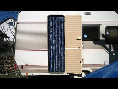 Wohnwagen Flauschvorhang Insektenschutz | Teil 2