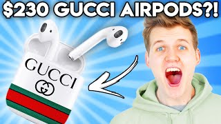 Can You Guess The Price Of These GUCCI DESIGNER PRODUCTS!? (GAME)