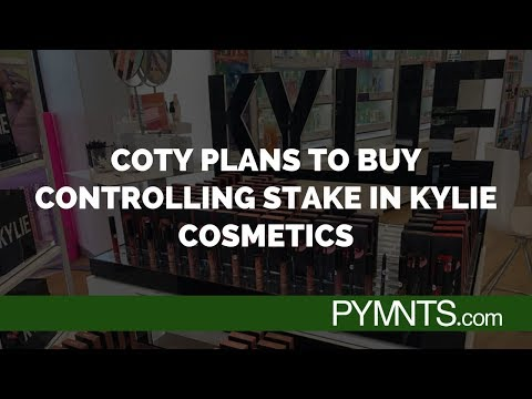 Coty Plans To Buy Controlling Stake In Kylie Cosmetics