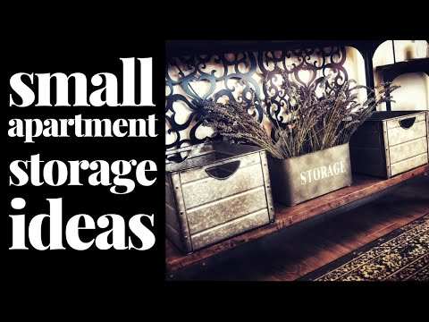 Small Space Storage Ideas for a Stylish Little Apartment