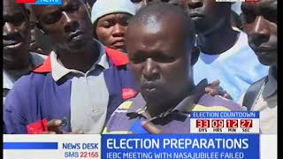Residents in Uasin Gishu want the IEBC and presidential candidates to set aside their differences