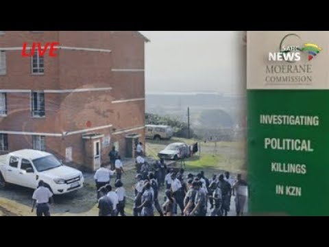 Moerane Commission of Inquiry into KZN political killings: 20 September 2017