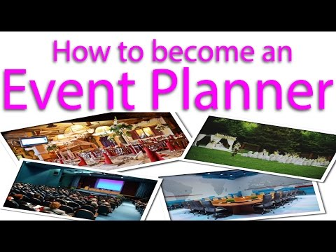 How to become an Event Planner? - YouTube
