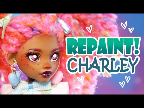 Repaint! Estelle the Pastel Rainbow Art Doll - H ALI Crafts Collaboration