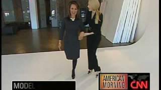 Modelinia On CNN: High Heel Boot Camp