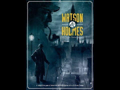 Tatooine Tableflip Unboxes Watson & Holmes