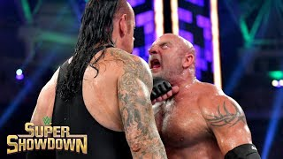 Mike Chioda Tried To Call Off Undertaker-Goldberg Match Before Near-Fatal Mistake