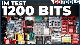 Der GROSSE BIT-Set TEST | Wera, Bosch, Milwaukee, Metabo, Makita, Hilti, uvm. | inkl. Verlosung