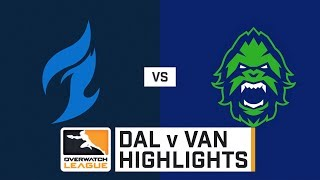 HIGHLIGHTS Dallas Fuel vs. Vancouver Titans | Stage 2 Playoffs | Day 2 | Overwatch League